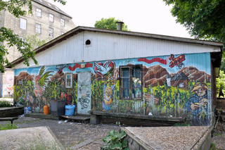 The freetown Christiania, Copenhagen