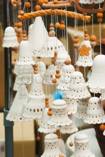 Clay products in the form of bells
