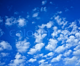 background of the sky