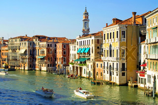Grand Channel in Venice, Italy