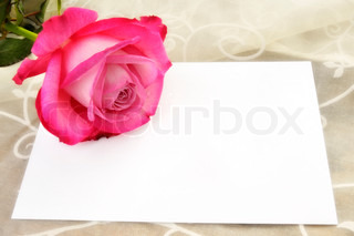 Letter with Rose