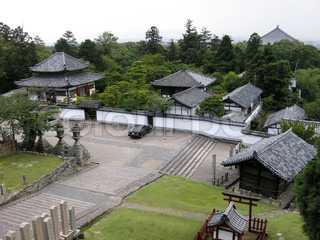The old japanese village