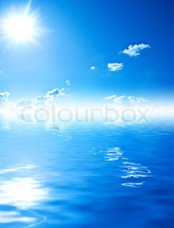 beutyful Wasser und Himmel