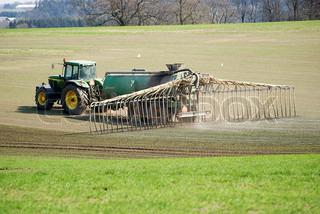Billede af 'gødning, sprøjtning, traktor'