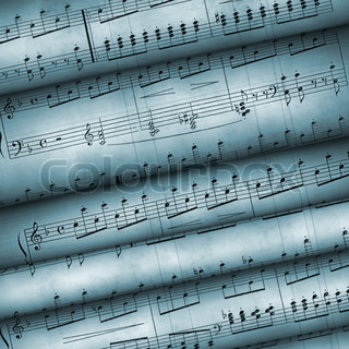 Musical notes. The grant for play on musical instruments