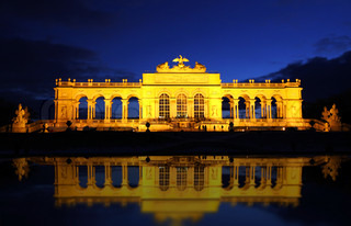 The Gloriette in the Schonbrunn Palace Garden, Vienna