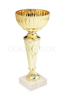 Sports Cup isolated on a white background