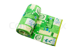 Comfortable home textile material bed blanket roll