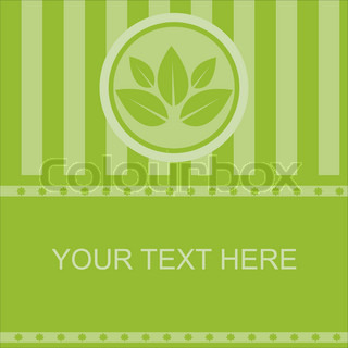 cute abstract leaves frame