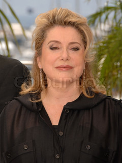 Catherine Deneuve during the photocall tu 'Persepolis' at the 60th Annual Cannes Film Festival at the Palais des Festival