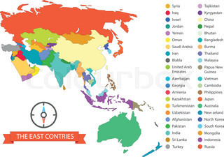 Grey world map infographic layout isolated on white world map world map infographic template the east countries illustration gumiabroncs Images