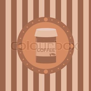sød kaffe baggrund