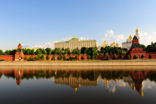 View From Moscow-river On Kremlin.