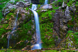 Waterfall stock photo colourbox - Impressive house with tranquil environment to get total relaxation ...