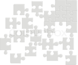 Piece jig puzzle vector colourbox for Peculiarity crossword clue