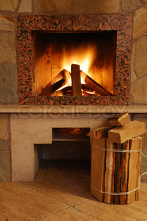 Fireplace flaring fire in a fireplace the reveted wild for Firerock fireplace prices
