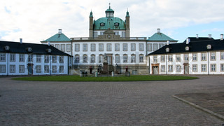 Fredensborg Palace, the royal summer residence in denmark