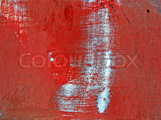 Texture of an metal, painted in red color