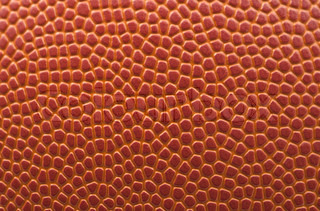 Basketball background, texture of a basketball