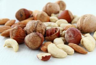 Mix Nüsse - Mandeln, Cashew- Nüsse Walnüsse