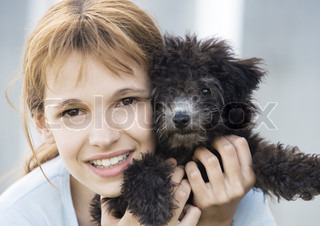 Image of 'preteens, dogs, in'