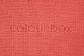 Red waffle cloth texture