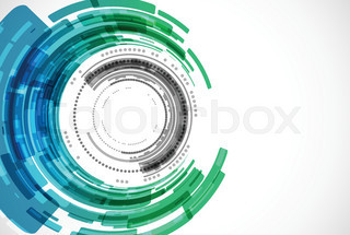 Abstract modern technology background.