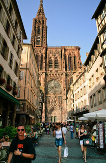 Cathedrale Notre-Dame in Strasbourg, France on JuLy 11, 2010