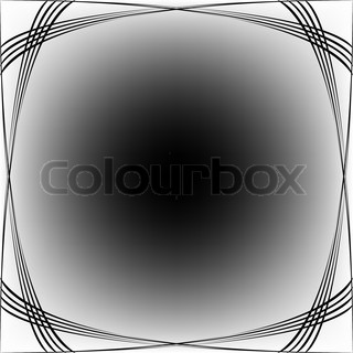black waves over white background, abstract seamless texture; abstract vector art illustration