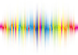 The beautiful gradient color line background