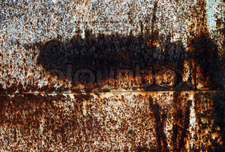 Corrosion grunge surface of metal wall