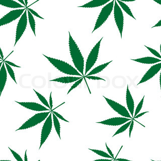 cannabis seamless pattern, abstract texture; art illustration