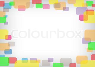 The rounded rectangular eps10 color background for text