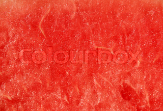 Red texture of water melon