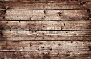 Høj opløsning brun træ planke tilbage jorden