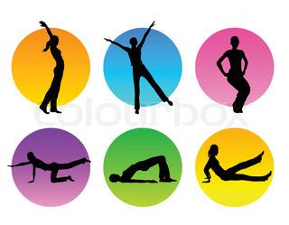 Grafiken von 'Muskel, Frau, muskel'