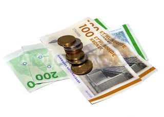 Et par hundrede danske kroner