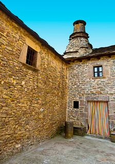 The Courtyard of a Typical Spanish Medieval House