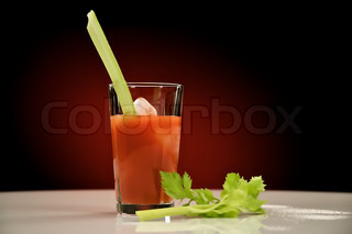 Forfriskende kold Bloody Mary