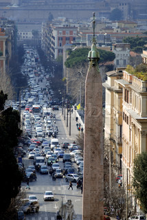 Image of 'cars, italia, rome'