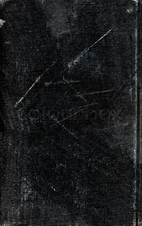 Background from black old book cover