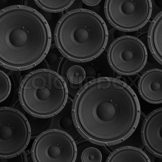 Speakers seamless background - texture pattern for continuous replicate. See more seamless backgrounds in my portfolio.