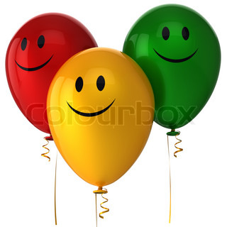 Happy balloons birthday party decoration