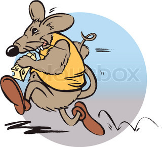 ©Dominique Bruneton/AltoPress/Maxppp ; Mouse running with cheese