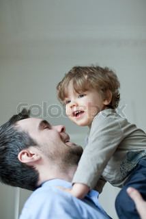 Image of 'son, father, together'
