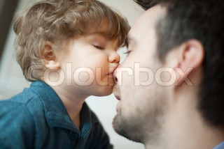 Image of 'father, child, adult'