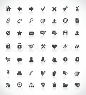 49 high quality web and office icons