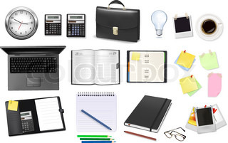 Business and office supplies .