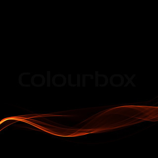 Glowing red abstract background