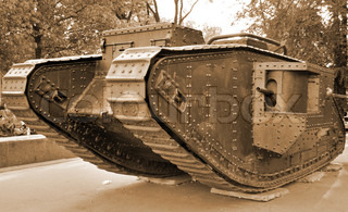First british tank of the World War One, last alive